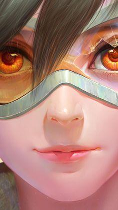 Overwatch Tracer, Overwatch Comic, Overwatch Wallpapers, Hero Costumes, Monster Girl, Beautiful Drawings, Ravens, Cool Wallpaper, Cartoon Art