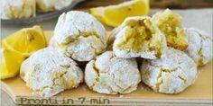 Pronti in 7 minuti, Biscotti al limone senza farina e senza uova, ma deliziosi da mangiare