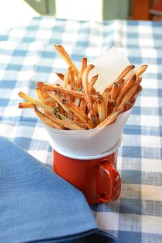 Brand New to Air Frying - Blue Jean Chef - Meredith Laurence Deep Fried French Fries, Air Fryer French Fries, Churros, Tempura, Air Fryer Fries, Blue Jean Chef, Blue Jeans, Air Fry Recipes, Side Recipes