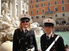 Police Women in Roma by ~Gorpin~, via Flickr