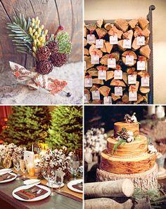 Rustic Winter Wedding