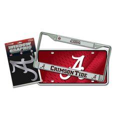 Alabama Crimson Tide NCAA 3 Piece Auto Detail Pack