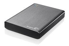 Seagate Wireless Plus STCV500200 externe drahtlose Festplatte 500 GB (6.4 cm (2.5 Zoll), auch USB 3.0) silber