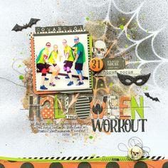 Halloween Workout *My Mind's Eye* - Scrapbook.com