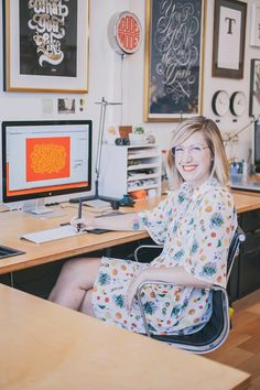 Letterer and Type Designer Jessica Hische | The Everygirl