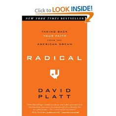"GREAT read! So convicting and challenging! :) ""Ultimately, Jesus is a reward worth risking everything to know, experience, and enjoy."" <3 ~ David Platt"