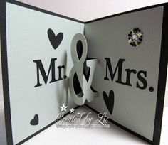 Mr and Mrs Pop Up Card cutting file by Alaa Studio | Project by the purple place