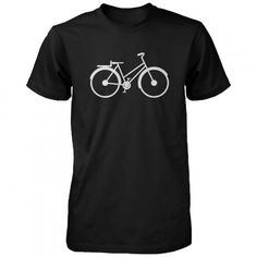 BICYCLE men's t-shirt size S-XXL  About the tee: Our designs on the t-shirts are printed by us on to High quality t shirts for the best fit, feel and durability we can find. How we print: We use a...@ artfire