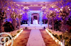 "Rain moved us inside, & this was ""Plan B!"" A plan b to LOVE!  Image by Garrett Nudd: http://www.garrettnudd.com/  Wedding Planner/Design: E Events by Lisa Stoner: http://eeventsdesign.com/"