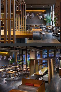 EAST restaurant on Interior Design Served