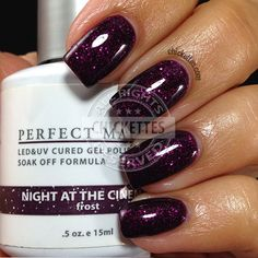 nails.quenalbertini: LeChat A Night at the Cinema - swatch by Chickettes
