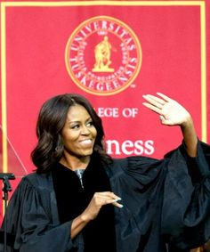 3 inspiring moments from Michelle Obama's commencement speech