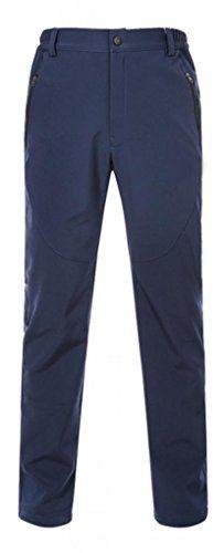 Cloudy Arch Men s Waterproof Mountain Pants Fleece Windproof Ski Pants(Navy 6a2899c24