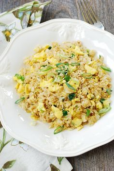 Egg fried rice (Gyeran bokkeumbap)