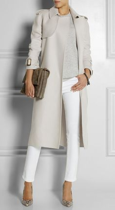 Bottega Veneta Cashmere trench coat