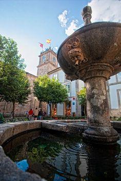 Fuente de Fonseca, en Santiago de Compostela.