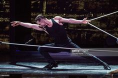 Derek Hough performs during Julianne and Derek Hough Move Beyond Live at Microsoft Theater on June 11, 2017 in Los Angeles, California. I Want Him, Derek Hough, Lets Dance, Beauty Hacks, Beauty Tips, Leonardo Dicaprio, Tours, Live, Concert