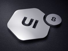 UI8 Logo Mount #logo #design #inspiration