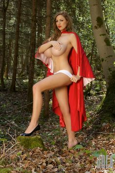Jordan Carver preview if her set Little Red Riding Hood