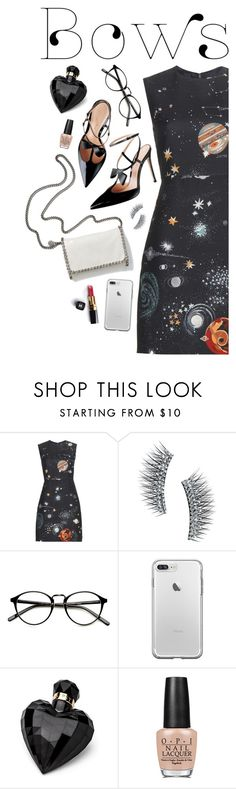 """""""Put a Bow on It! #3"""" by anaiara ❤ liked on Polyvore featuring STELLA McCARTNEY, Valentino, Kre-at Beauty, Lipsy, Chanel and OPI"""