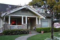 pasadena california bungalows in the 1920s | And here's my inspiration so far...