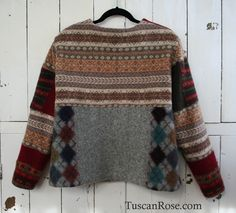 Recycled wool sweater
