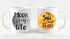Game of Thrones, Moon of my life My sun and stars, games of thrones couples mug set, khaleesi mug khal drogo mug, game of thrones coffee mug