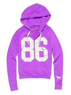 ShopStyle: Victoria's Secret Pink® Signature Pullover Hoodie