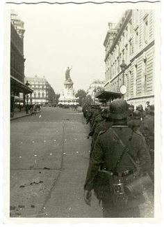 German Troops March Through Paris