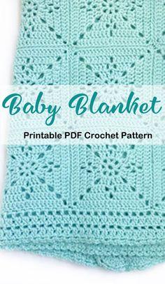 Free Baby Blanket Patterns, Crochet Baby Blanket Free Pattern, Crochet Baby Cardigan, Crochet Afghans, Crochet Blankets, Baby Blankets, Bobble Stitch Crochet, Fillet Crochet, Crochet Ideas