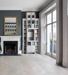 Wide board timber flooring is a fabulous current trend creating a great sense of space. Parquet has always been seen as the upper end luxurious option associated with period homes. Timber Flooring, Luxury, House, Ideas, Home Decor, Wood Flooring, Decoration Home, Home, Room Decor