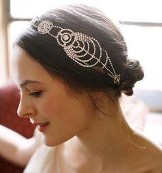 Fashion Headwear Wedding Bridal Rhinestone Headpiece Vintage Hair Jewelry Headband