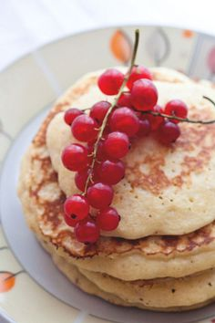 Pancakes with red currant by Natchen80, via Flickr