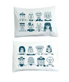 Bed Buds Pillowcase Set X Andy Rementer