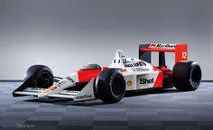 1988/McLaren Honda MP4/4(マクラーレン・ホンダ MP4/4[4輪/レーサー])