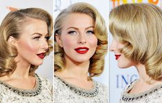 Retro Hair Styles : how to & styling tips #vintage #retro #updo