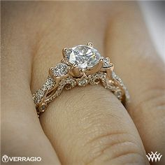 Verragio Braided 3 Stone Engagement Ring. I think this may be the one..