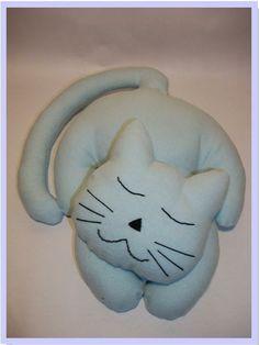 Sleeping Kitty (Cat)  - via @Craftsy