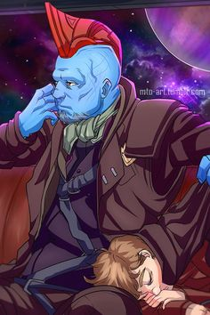 Yondu Udonta & Star Lord (Peter Quill) || Guardians of the Galaxy