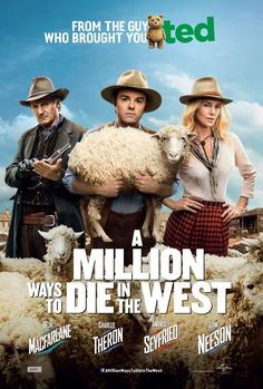 A Million Ways To Die In The West – New Poster