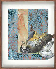 Dead bird as art?