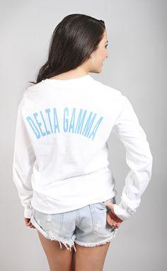 Greek Spirit Long Sleeve - Delta Gamma