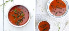 Gaspacho -Μια νόστιμη σούπα με ντομάτες