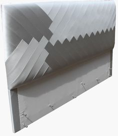Aiveen Daly Chevron Headboard Chevron Headboard, Chevron Bedding, Side Table Decor, Table Decorations, Master Bedroom, Bedroom Decor, Bedroom Ideas, Bed And Beyond, Leather Wall