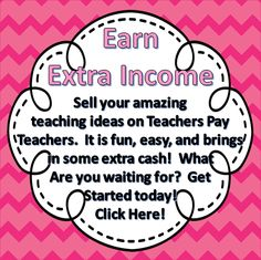 Make some extra cash on TPT.  What are you waiting for?  You can sign up for #FREE.  https://www.teacherspayteachers.com/Signup/referral:scook2000