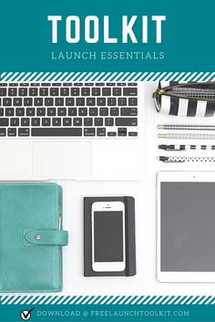 Whatever you're thinking about launching in your business, an online course, an ebook, maybe a coaching program, start here with this launch essentials toolkit first!