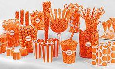 Orange Candy Buffet