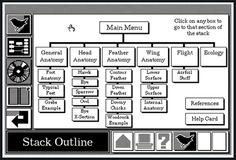 HyperCard, de Bill Atkinson est un  environnement de développement dérivé  des langages orientés objet comme le  Smalltalk (développé au PARC de Xerox  dans les années soixante-dix), reprenant  la philosophie du Macintosh.
