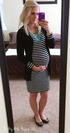 Thrifty Wife, Happy Life: Making the Most of your Favorite Maternity Clothes