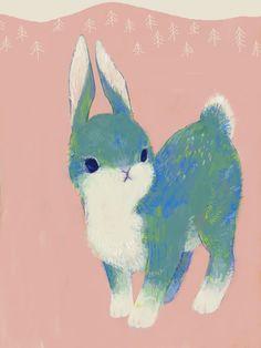 quitさんのイラスト 「生物-動物-ウサギ-うさぎ-兎」